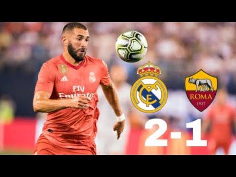 Roma Vs Real Madrid (EDIT)