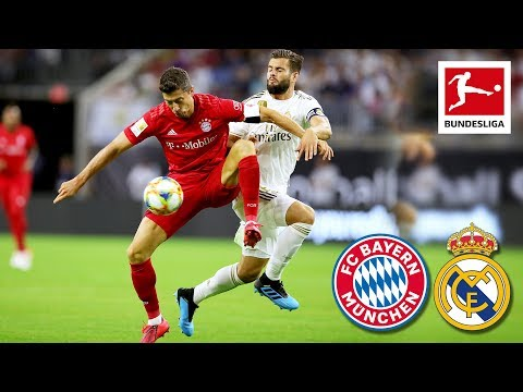 FC Bayern München – Real Madrid | 3-1 | Highlights ICC 2019