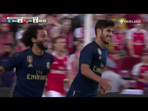 Real Madrid v Arsenal – HIGHLIGHTS – International Champions Cup