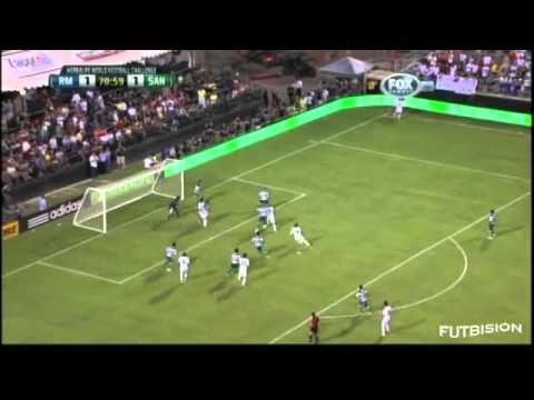 Real Madrid vs Santos Laguna 2-1 World Football Challenge 2012 [05/08/12] All Goals