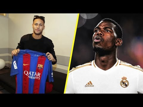 Confirmed & Rumours Summer Transfers #2 Pogba? Neymar?