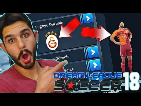 Logo ve Forma Ekleme + ONLİNE Maç! – Dream League Soccer 2018