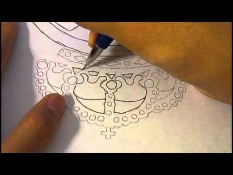 Speed Drawing – Real Madrid Logo
