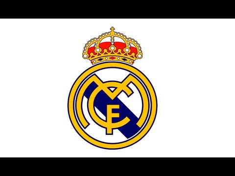 Como desenhar o escudo do Real Madrid (CF) – How to Draw the Real Madrid Logo (CF)