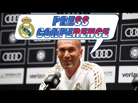 Zidane's pre-Bayern Munich press conference in Houston