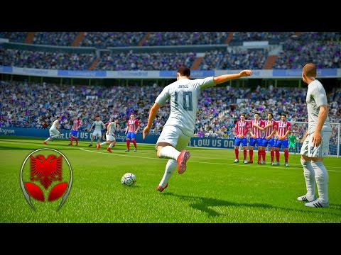 FIFA 17 SHQIP – Real Madrid vs Manchester United – SHQIPGaming