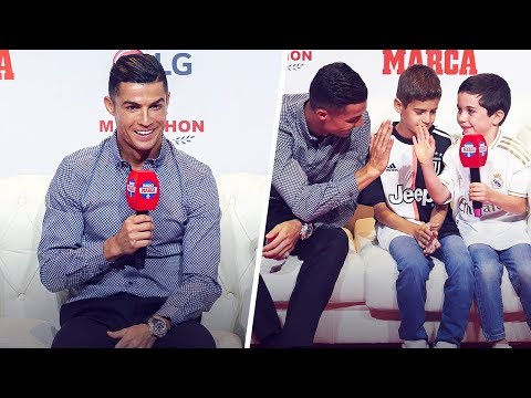 What this little kid told Cristiano Ronaldo was pure gold – Oh My Goal