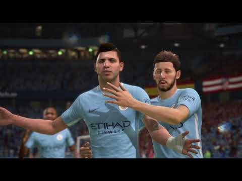 fifa 18 \\Man city vs Atletico Madrid \\ PC GAMEPLAY