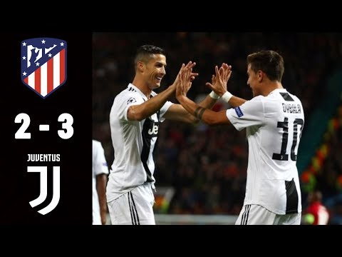 Atletico Madrid vs Juventus 2-3 – Goles All Goals Highlights Resumen (Last Matches) – 2019 HD