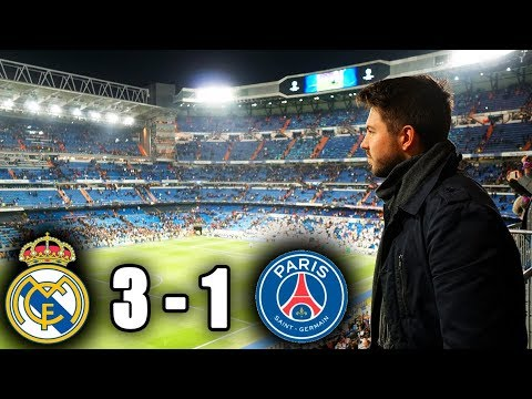 REAL MADRID – PSG 3:1 | CHAMPIONS LEAGUE | 14.02.2018