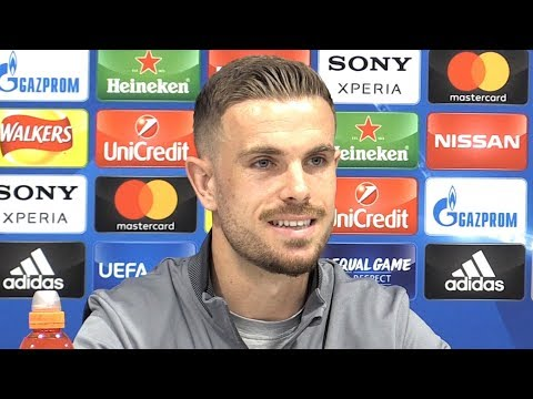 Jordan Henderson Full Pre-Match Press Conference – Liverpool v Roma – Champions League Semi-Final