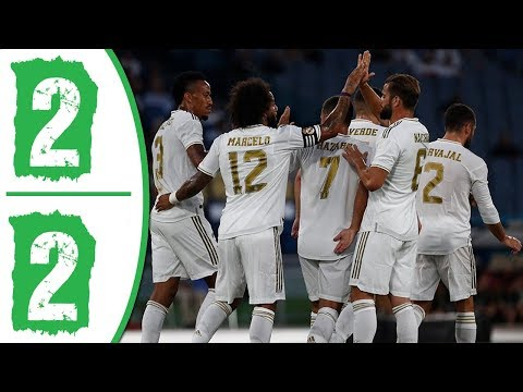 AS Roma vs Real Madrid 2-2 Extended Highlights & Goals 2019
