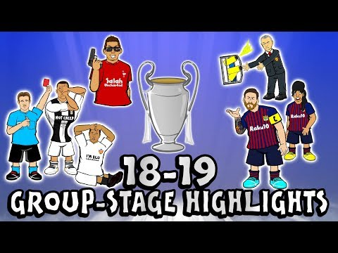 🏆UCL GROUP STAGE HIGHLIGHTS🏆 2018/2019 UEFA Champions League Best Games and Top Goals
