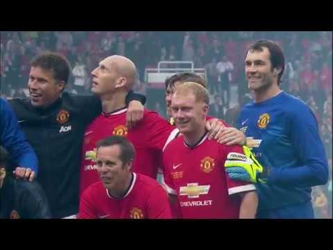 [HIGHLIGHTS] Manchester United Legends 4-2 Bayern Munich Legends (2015 Legends Match)