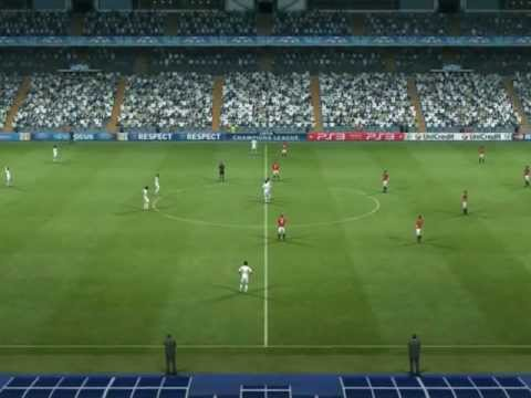 PES 2012 – Real Madrid VS Manchester United