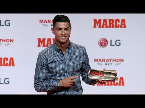 Cristiano Ronaldo recibe el MARCA Leyenda I MARCA