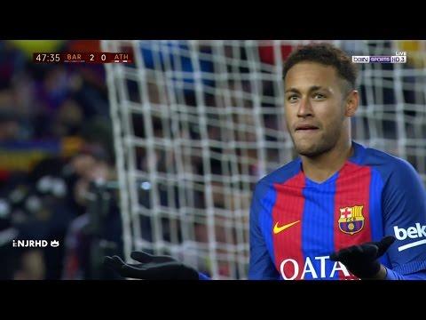 Neymar vs Athletic Bilbao | Copa del Rey | 11/1/17 | HD