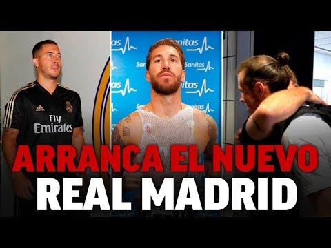 El Real Madrid 2019/20 vuelve al trabajo… con Bale I MARCA