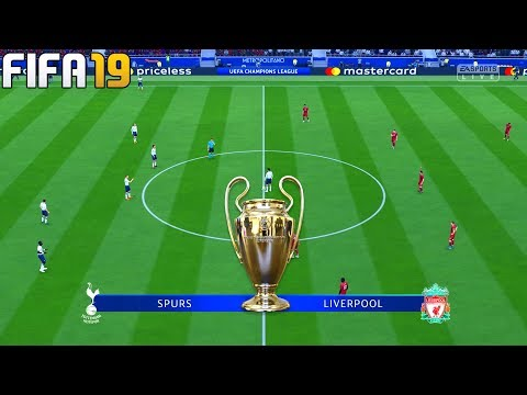 FIFA 19 | Tottenham Hotspur vs Liverpool – Final 2019 UEFA Champions League – Full Match & Gameplay
