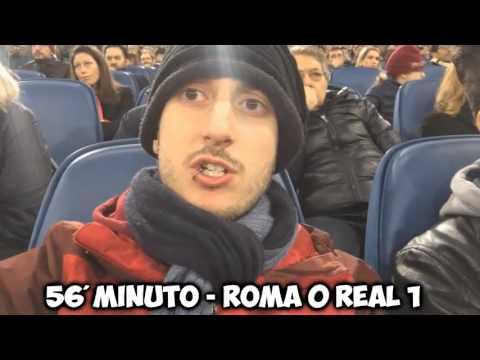 ROMA REAL MADRID 0 – 2 REAZIONE AGLI HIGHLIGHTS | ilvostrocaroDexter & BrazoCrew