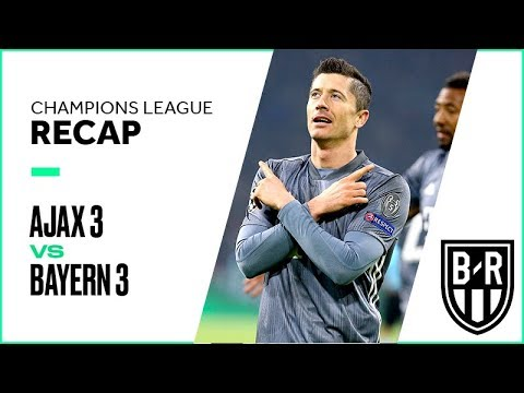 Ajax vs Bayern Champions League Group Stage FULL Match Highlights: 3-3