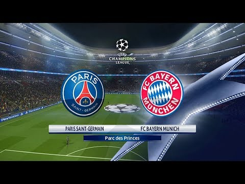 PES 2018 PSG Vs. Bayern Munich UCL Full Match Prediction