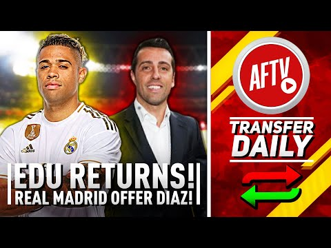 EDU Returns & Real Madrid Striker Offered To Arsenal! | AFTV Transfer Daily