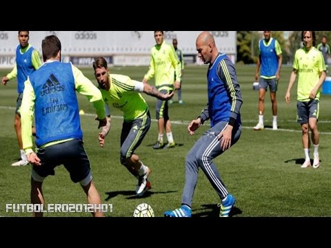 Los 5 trucos de Zidane en el entrenamiento ◉ Real Madrid ◉ REVIEW ◉ HD