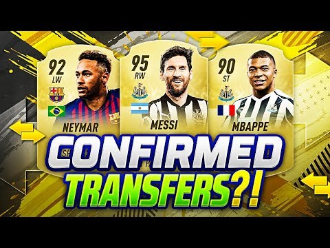 FIFA 20 NEW CONFIRMED TRANSFERS SUMMER 2019 & RUMOURS | w/ NEYMAR & MESSI + MBAPPE TO NEWCASTLE💰