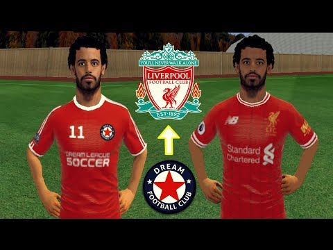 Create Liverpool Team ★ Kit, Logo & Players ★ Dream League Soccer 2018
