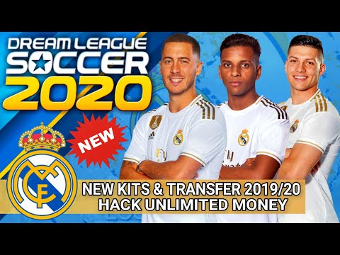 Download Dream League Soccer 2020 Spesial Mod Real Madrid Squad Transfer & Jersey 2019/20