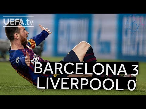 BARCELONA 3-0 LIVERPOOL #UCL HIGHLIGHTS
