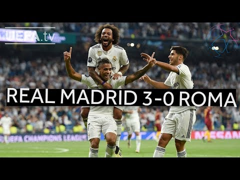 REAL MADRID 3-0 ROMA #UCL HIGHLIGHTS