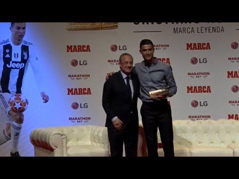 Cristiano Ronaldo – MARCA Legend 2019 [FULL CEREMONY]