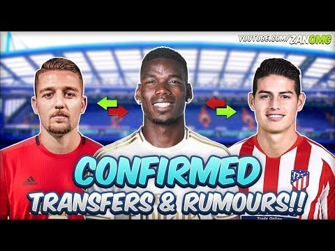 LATEST CONFIRMED TRANSFERS & RUMOURS 2019/20!! #5