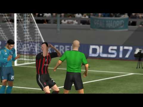 AC Milan vs Real Madrid – Dream league soccer 2017 – Android gameplay #36
