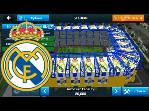 REAL MADRID STADIUM | HOW TO CHANGE STADIUM IN DREAM LEAGUE SOCCER 2019