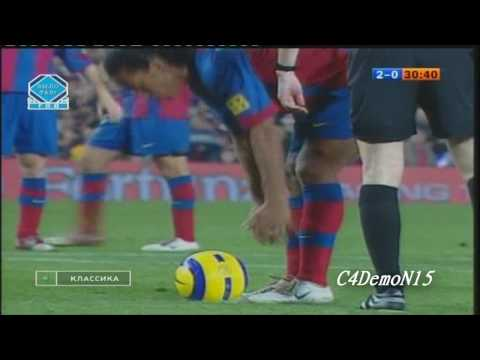 Ronaldinho vs Real Madrid 2004/2005