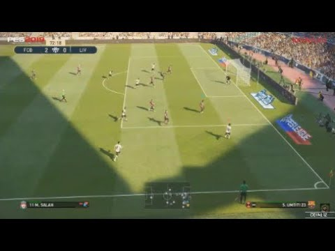 PES 2019 |  GAMEPLAY BARCELONA VS LIVERPOOL FULL HD 1080 (E3 2018)