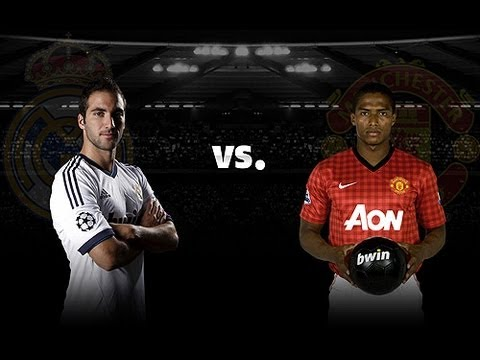 Real Madrid v Man Utd: Higuain and Valencia give inside scoop