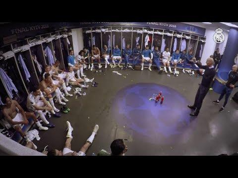 Le discours de Zinedine Zidane au Real Madrid à la mi-temps de la finale de la Ligue des Champions