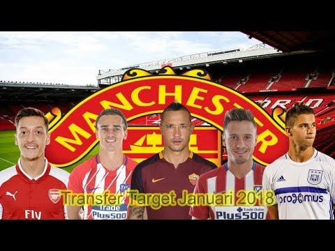 Manchester United Transfer Target Januari 2018