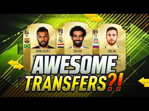 FIFA 19 CONFIRMED SUMMER TRANSFERS! | TRANSFER RUMOURS | w/ DANI ALVES, OBLAK, ISCO & SALAH | FUT 19
