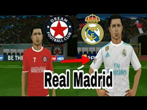 Create Real Madrid Team On Dream League Soccer 2018.