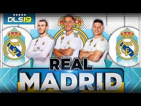 Time do Real Madrid!! Pra Dream League Soccer 2019 – Com Kits da Última Temporada!!