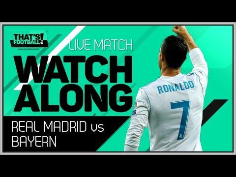 REAL MADRID vs BAYERN MUNICH UCL 2018 LIVE STREAM MATCH CHAT