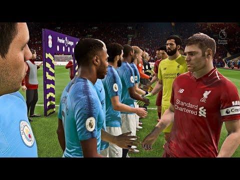 LIVERPOOL VS MANCHESTER CITY | 7/10/2018 | FIFA 19 Predict by Pirelli7