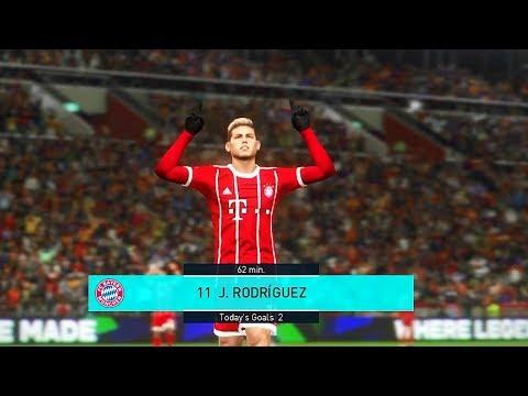 PES 2018 FC Bayern Munich Vs. Borussia Dortmund Full Match