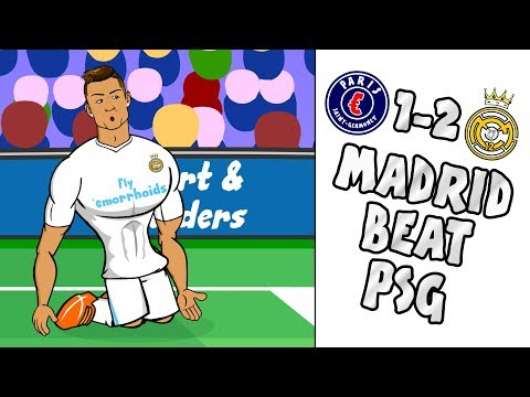 🔥REAL beat PSG – Ronaldo scores in 8 UCL GAMES!🔥 (PSG vs Real Madrid 1-2 2-5 Parody Highlights)