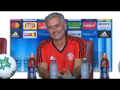 Jose Mourinho Pre-Match Press Conference – Real Madrid v Manchester United – UEFA Super Cup